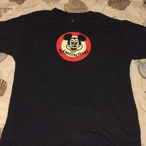 Walt Disney musketeers graphic logo Mickey 2xL